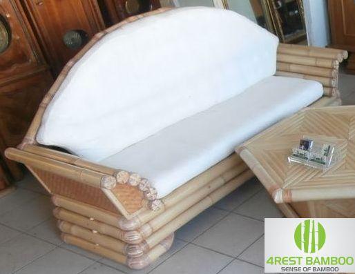 Bamboe retro klassiek meubel Roma