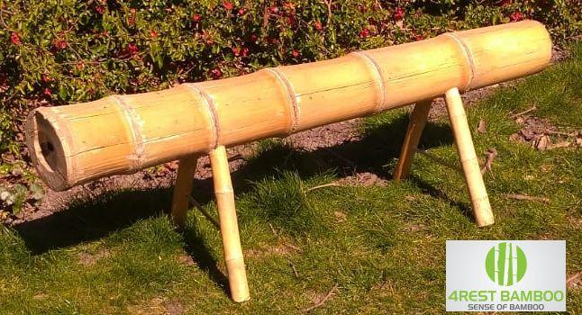 Bamboe paal bank Giant